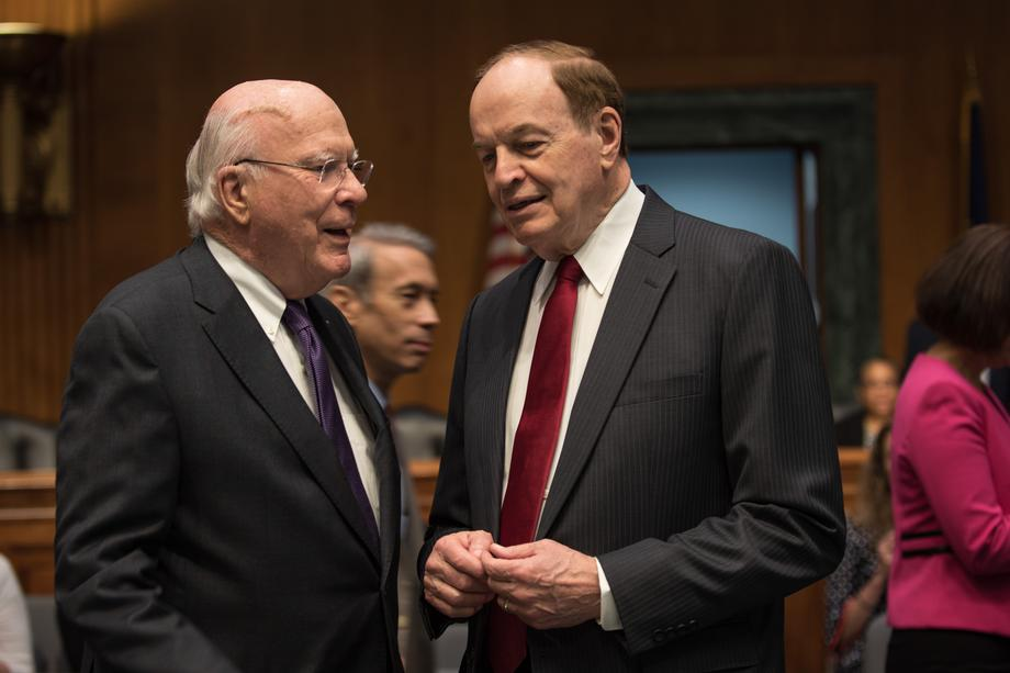In a remarkable swing away from past logjams over the past decade over annual Appropriations bills, Vice Chairman Leahy, in close cooperation with Senator Shelby, succeeded in keeping harmful poison-pill riders out of three more of the annual Appropriations bills that were marked up in Appropriations Committee this week.  Leahy and Shelby have pledged to return to regular order in an effort to pass all 12 appropriations bills this year.  Read his full committee statement here: https://www.appropriations.senate.gov/news/minority/vice-chairman-leahy-statement-on-the-fy-19-homeland-security-sfops-and-fsgg-appropriations-bill