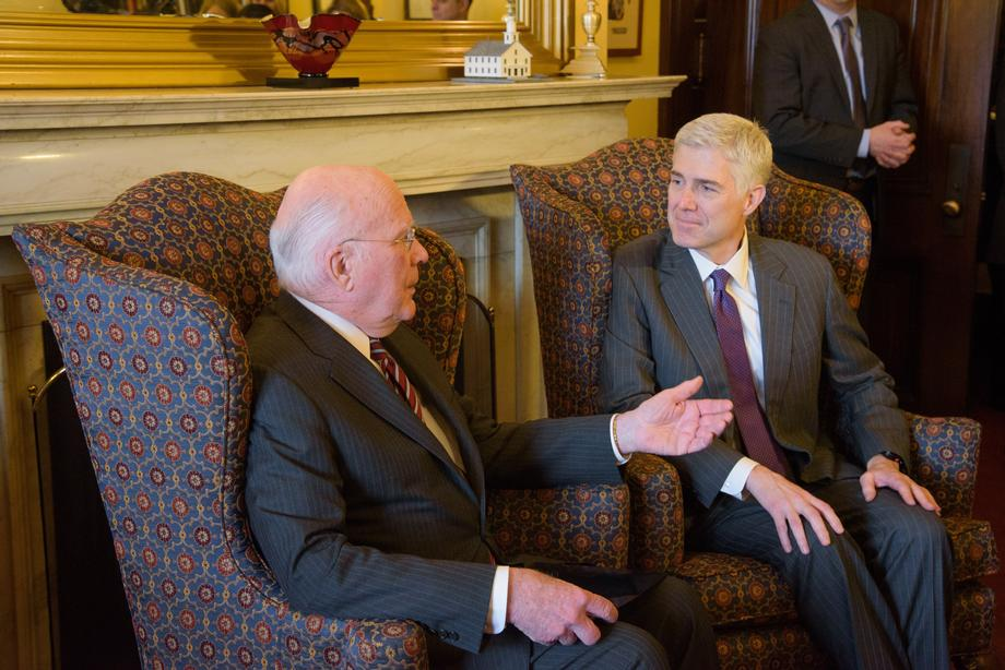 Meeting With Judge Gorsuch