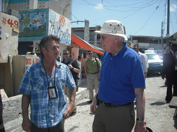 Sean Penn speaks with Senator Leahy about his experiences living and working in Haiti since the earthquake in 2010.